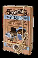 Кофейный набор Учителю Teacher 50 грамм кофе в подарочной  упаковке + 5 плиточек молочного шоколада