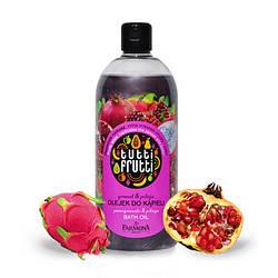 "Мерцающее масло для ванны и душа ""Гранат и питайя"", FARMONA Tutti Frutti Pomegranate and Pitaya Bath and Showe"