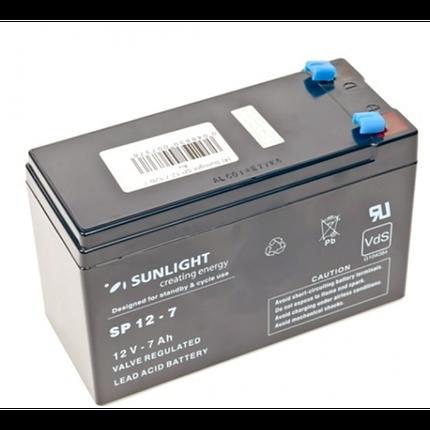 Аккумулятор Sunlight SP 12-7 (12 Вольт, 7 Ач), фото 2