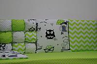 Постельный набор в кроватку новорожденного Joy комбинированный