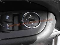 Алюминиеваярамкана ручку регул зеркала для Ford Focus Mk2 2004-2011
