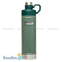 Термофляга Stanley Classic Vacuum Water Bottle 0,75 л Зеленая