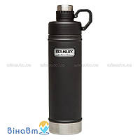 Термофляга Stanley Classic Vacuum Water Bottle 0,75 л Матовая черная