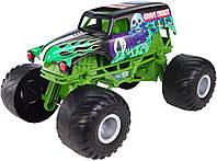 Hot Wheels Monster Jam Giant Grave Digger Truck Большой внедорожник джип