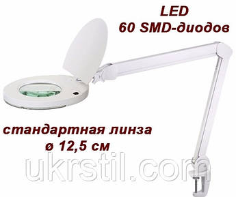Лампа-лупа 6025-8 LED (3D / 5D)