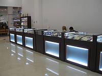 Витрины для ювелирных магазинов под заказ