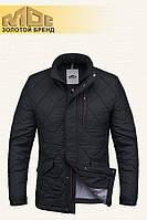 Черная демисезонная мужская куртка MOC (р. 46-54) арт. 039 R