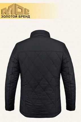 Черная демисезонная мужская куртка MOC (р. 46-54) арт. 039 R, фото 2