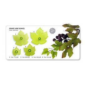 Листья винограда набор вырубок из 4 шт