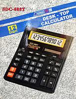 Калькулятор настільний бухгалтерський (фінансовий), SDC-888T, 12 цифр