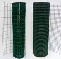 Сварная сетка в рулонах Премиум 1.5м высотой, длина 10м с ПВХ покрытием