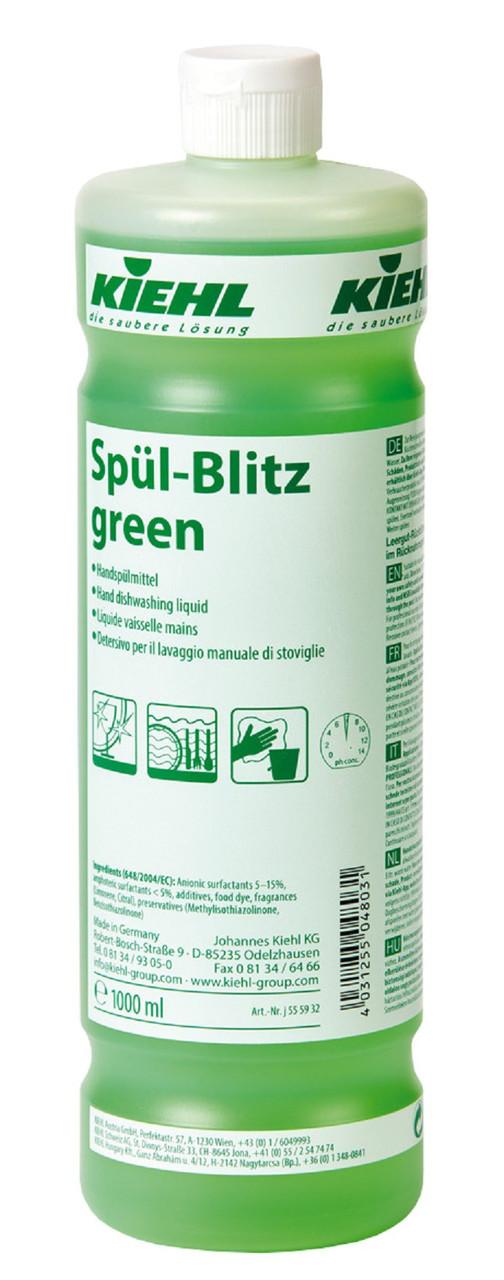Средство для ручной мойки посуды - Spül-Blitz green, 1 л