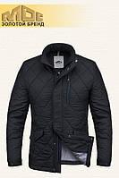 Демисезонная черная мужская куртка MOC (р. 46-54) арт. 039 V