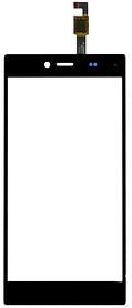 Сенсор (тачскрин) для телефона iOcean X8 черный