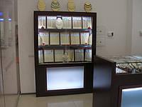 Торговое оборудование для ювелирного магазина