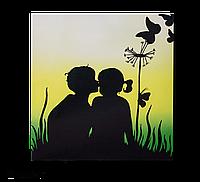 """Металлокерамический дизайн-обогреватель UDEN-500K Любовь-морковь (Image) """"UDEN-S"""""""