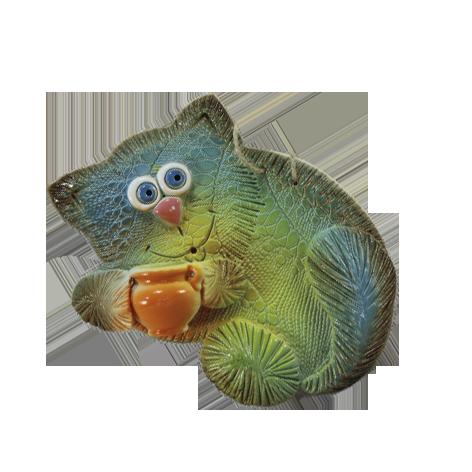 Сувенир «Мурчик и горшок»