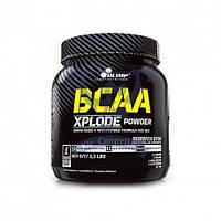Olimp BCAA Xplode 500g БЦАА аминокислоты для тренировок для восстановления мышц спортивное питание