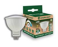 Лампа Цоколь Светодиодная ENERLIGHT MR16 / 7 Вт / 3000 К / 220 В / GU5.3