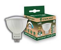 Лампа Цоколь Светодиодная ENERLIGHT MR16 / 4 Вт / 4100 К / 220 В / GU5.3