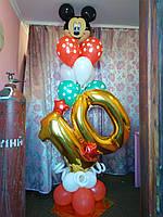 Цифры и композиции из воздушных шаров