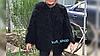 Шуба лама 65 см