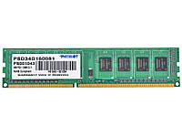 Модуль памяти 4 GB Patriot DDR3-1600 4096MB PC3-12800 psd34g160081