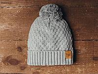 Зимняя шапка с бубоном Staff