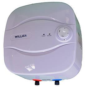 Бойлер Willer PA10R New Optima Mini над мийкою