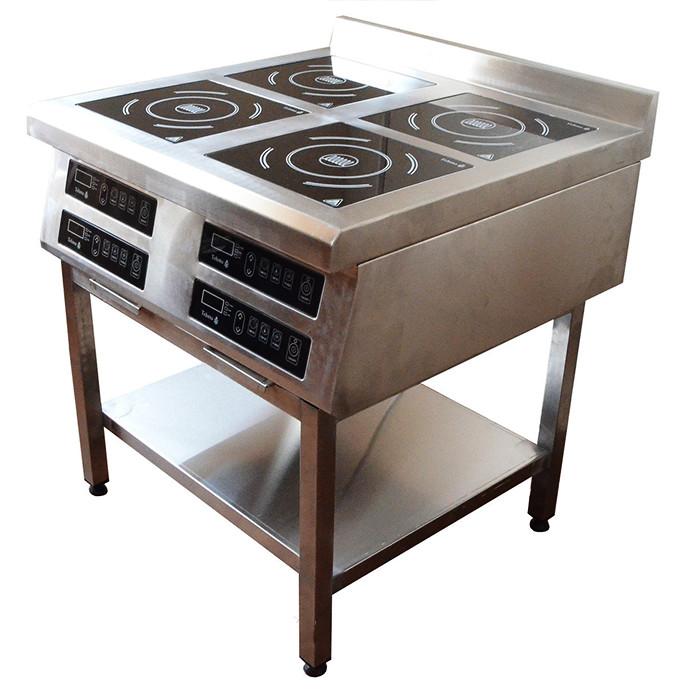 Плита индукционная профессиональная Tehma (4 конфорки, 3,5 кВт)