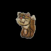 "Керамический сувенир на стену ""Котик"""