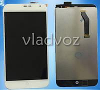 Дисплей модуль экран с сенсором для замены на Meizu MX3 LCD белый