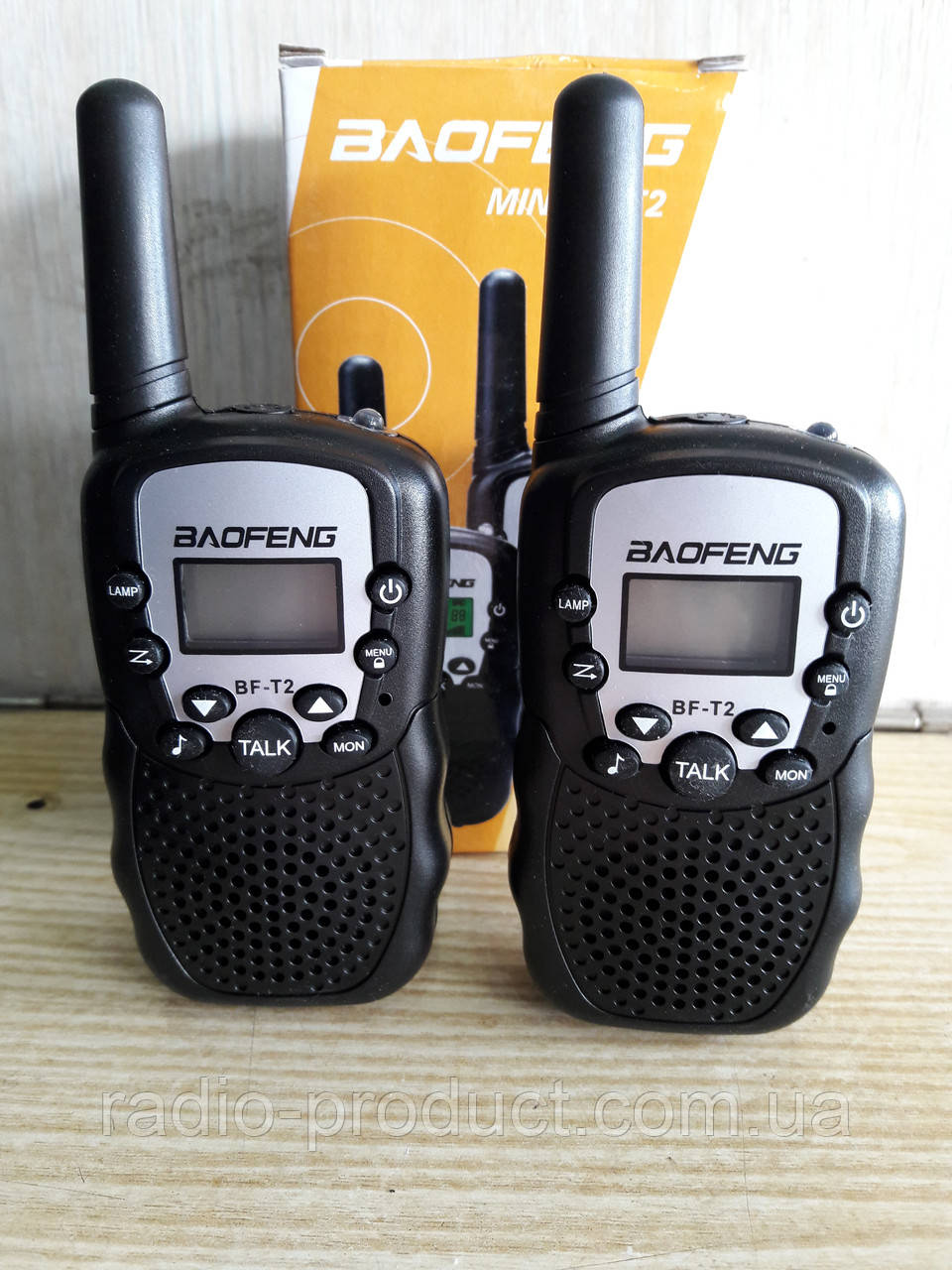 Радиостанции Baofeng MiNi BF-T2 PMR446 BLACK