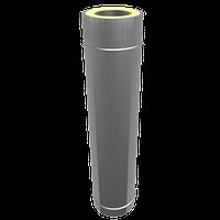 Труба сендвіч 0.5 м нерж/цинк 140х200, фото 1
