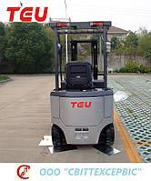 Электрический вилочный погрузчик TEU FB 25