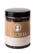 Скраб антицеллюлитный для тела с кофеином и маслом карите GLORIA 1000мл