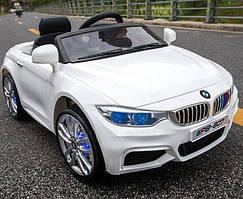 Детский электромобиль T-7619 WHITE, BMW, белый