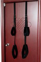Ремни на стену или дверь мягкие для секса на весу Fetish Door Качели, фото 3