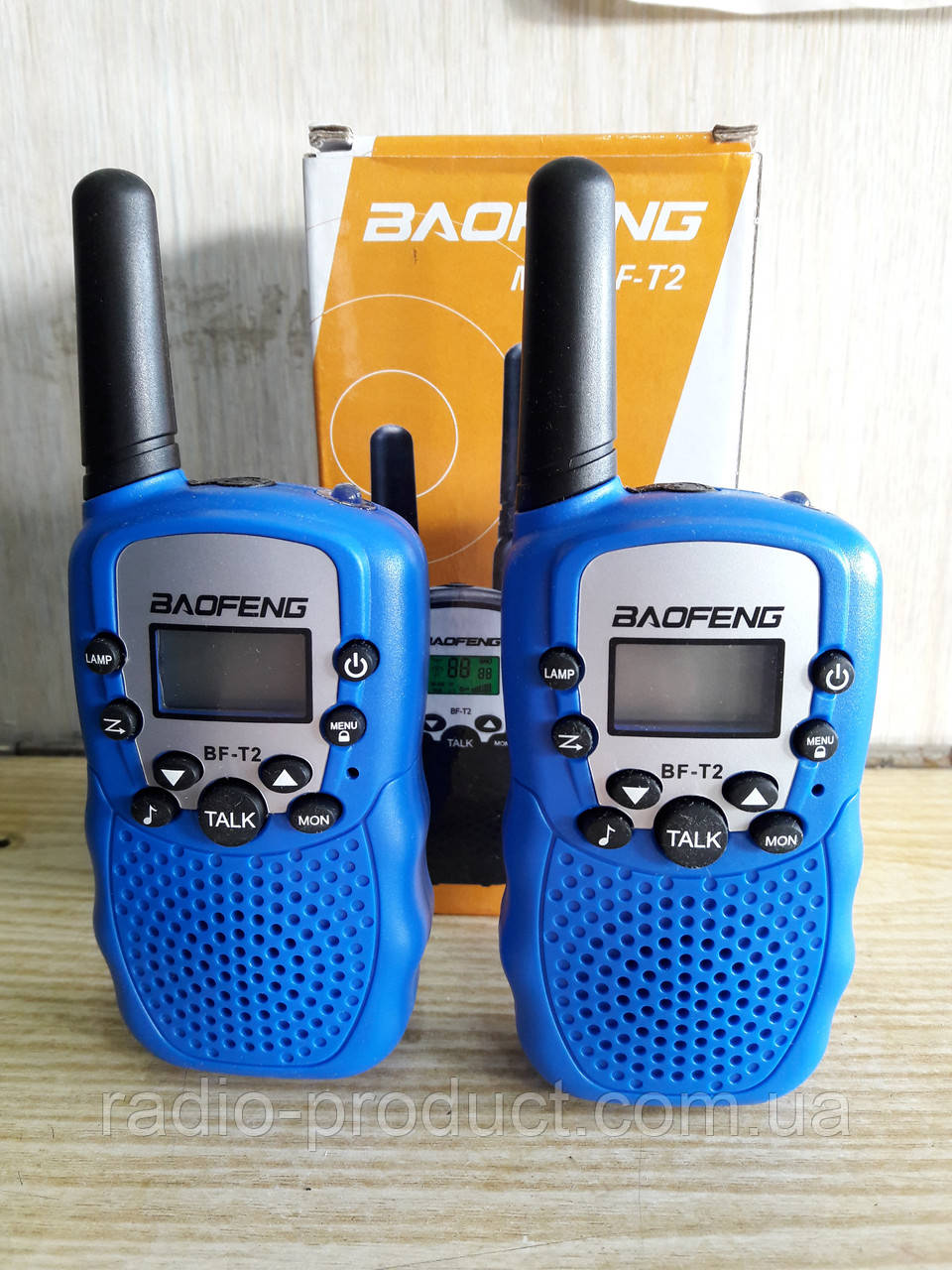 Радиостанции Baofeng MiNi BF-T2 PMR446 BLUE