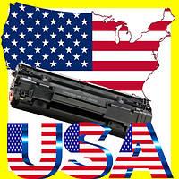 Картридж лазерный оригинальный из USA HP CB435A