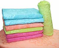 Велюровое полотенце для лица №Л2415