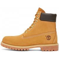 Женские ботинки Timberland Yellow (иск. мех)