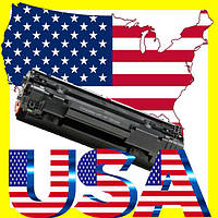 Картридж лазерный оригинальный из USA HP CB436A