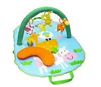 Biba toys Коврик-сумка развивающий Веселая ферма