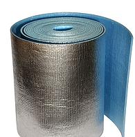 Рулонная теплоизоляция в фольге, 10 мм