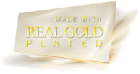 Серьги покрытые золотом