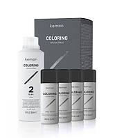Набор для камуфлирования седины для мужчин Kemon Coloring Grey Mousse Kit
