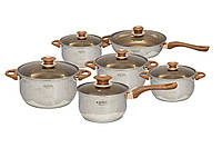 Набор посуды / кастрюль HOFFNER HOFFMAN (HF-4035)