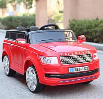 Детский электромобиль джип, Land Rover T-7823 красный