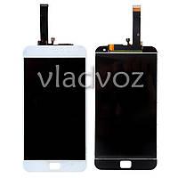 Дисплей модуль экран с сенсором для замены на Meizu MX4 Pro 5.5 LCD белый